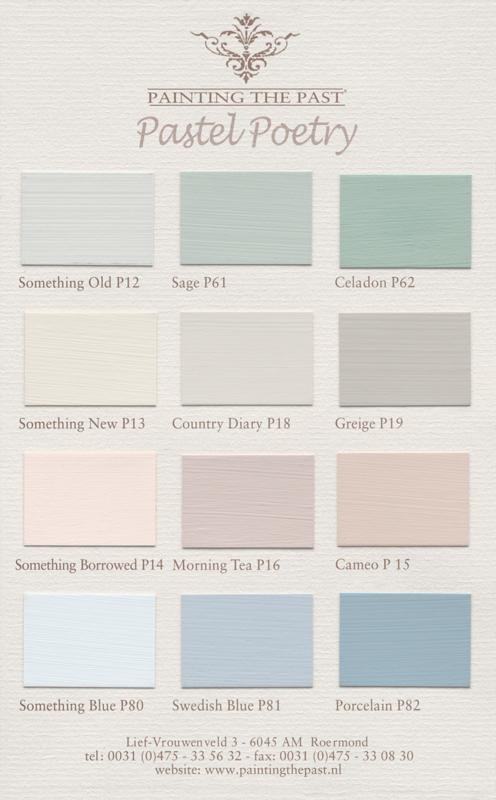 Pastel Poetry | Matt Emulsions | 2,5 ltr | Painting the Past | Snel Bestellen