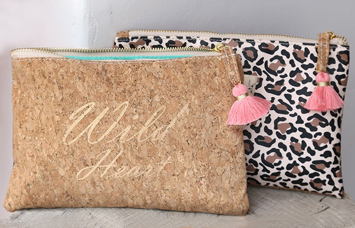 Ibiza Clutch/Make-up/Toilettasje | Wild Heart | Love Ibiza