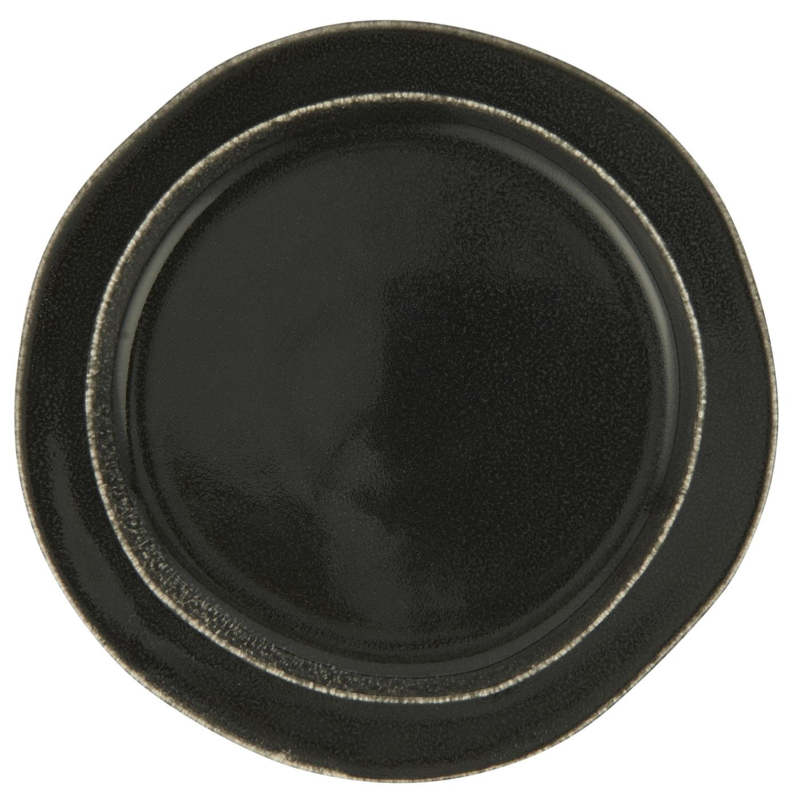 Lunch & Ontbijt Bord | Antique Black Dunes | Ø:22 cm | IB Laursen