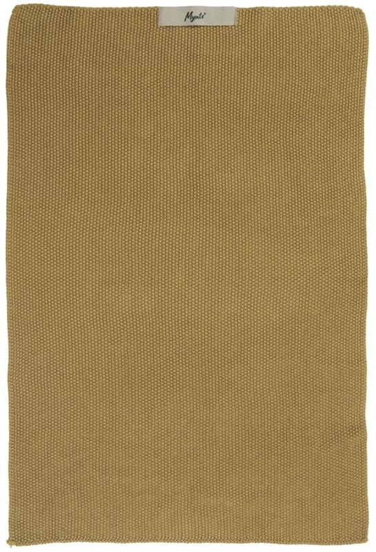 Keuken Handdoek | Mosterd geel | Gebreid | Mynte Ib Laursen