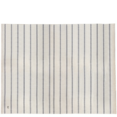 Tafelkleed Stripes | Natural Chambray 160x260 cm | Bastion Collections