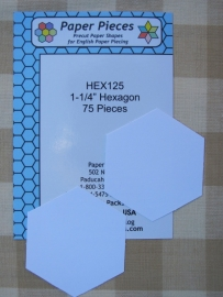 Hexagonnen  1 1/4""
