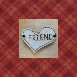 Hart friend 3 cm
