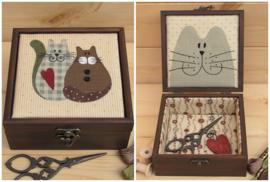 Kistje 'Katten' patroon