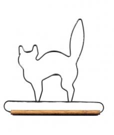 Quilthanger met kat 19 cm