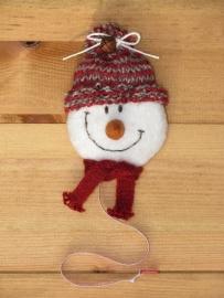 Patroon + materialen rolmaat 'Sneeuwpop'