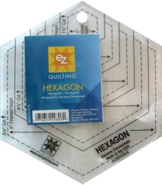 EZ Quilting hexagon ruler