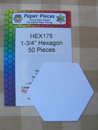 Hexagonnen  1 3/4""