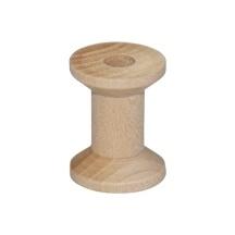 Houten klosje 3,0 cm x 2,2 cm