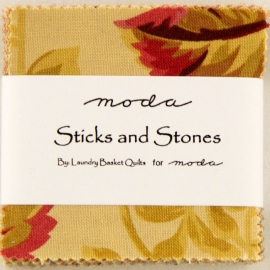 Mini charmpack Sticks and stones