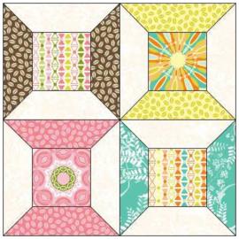 Quiltstempelset voor garenklosjes