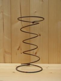 Roestige spiraal 20 cm