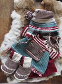 Haakpakket XXL Funny kledingset Christmas Nordic girl