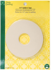 Quilters tape 1/4 inch, 60 yards