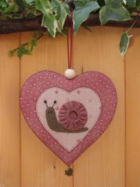 Patroon hanger hart 'Slakje'