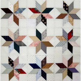 Quiltstempelset voor LeMoyne star