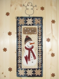 Patroon quiltje `Let it snow`