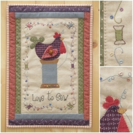 Patroon 'Love to Sew'