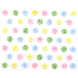 Micro Mini Round Pastels 3 mm