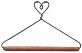 Quilthanger met hart 15 cm