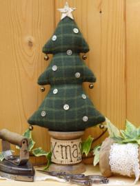 Patroon + materialenpakketje klos 'Kerstboompje'