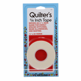 Quilters tape 1/4 inch, 24 yards