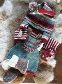 Haakpakket XXL Funny kledingset Christmas Nordic boy
