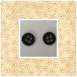 Zwart vier gaats 7,5 mm