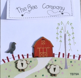 Sheep and barn- TB79A
