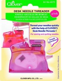 Desk needle threader rose