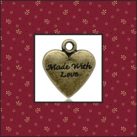 """Bedel hart """"made with love"""""""
