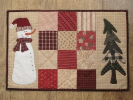 Patroon placemat winter