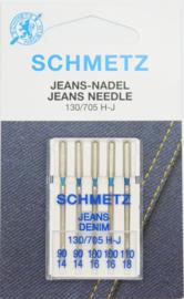 Schmetz jeans naalden assortiment 90-110