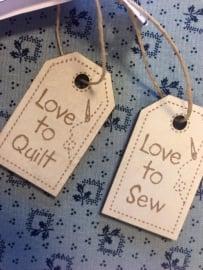 Labels/hangers