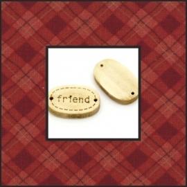 Ovaal 'friend'