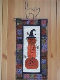 Patroon + materialen Happy Halloween