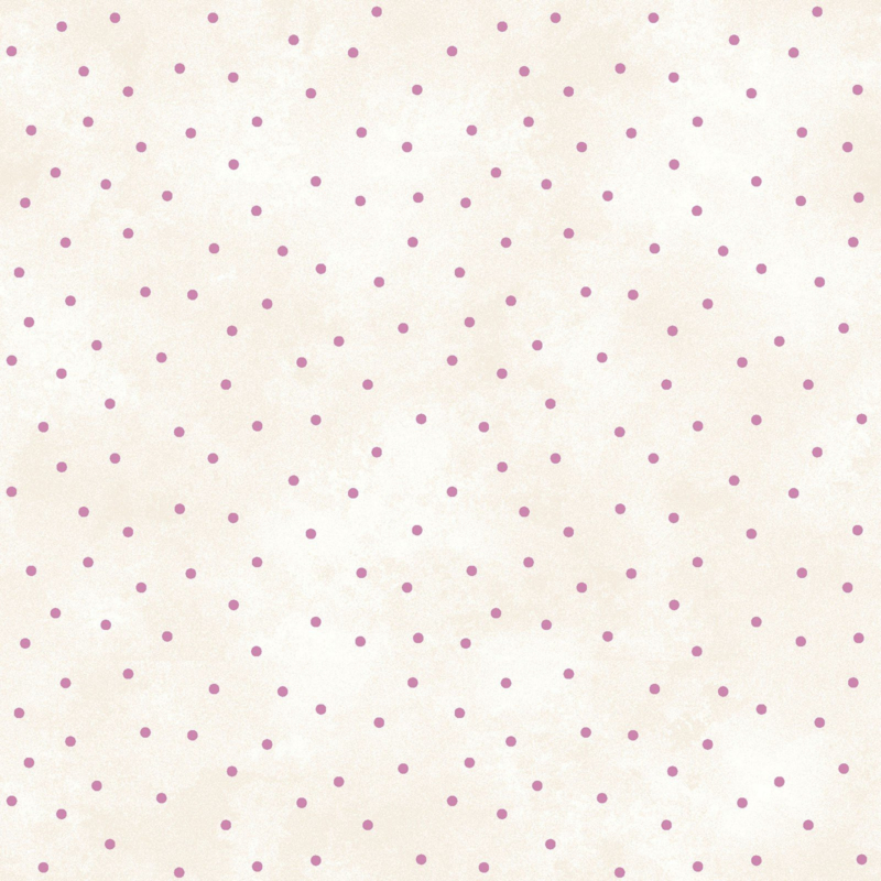 Pink dots ecru 8119-EP