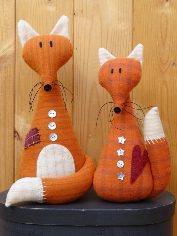 Patroon 'Happy Foxes'
