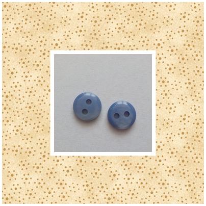 Blauw glanzend 6678 8 mm