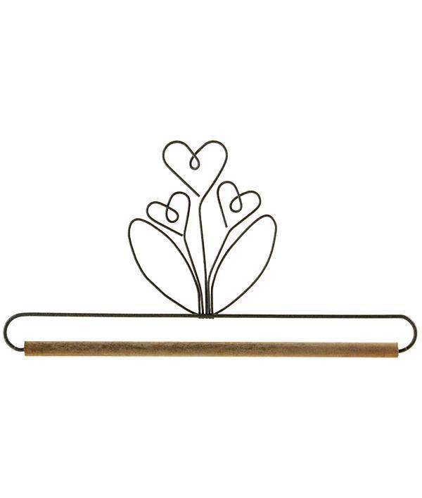 Quilthanger met bloemen 15 cm
