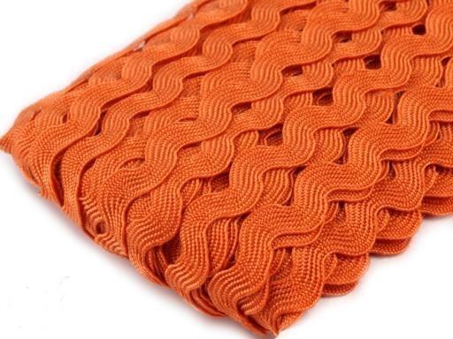 Bandje `Ric Rac' oranje