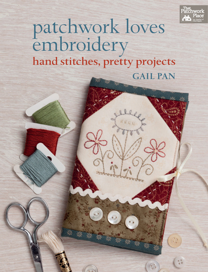 Gail Pan - Patchwork loves embroidery