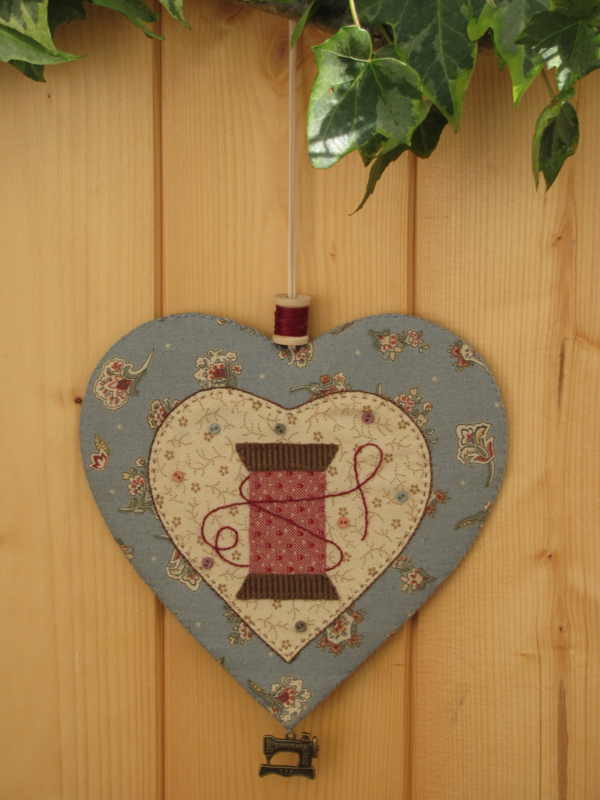 Patroon hanger hart 'Klosje'