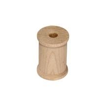 Houten klosje 2,0 cm x 1,5 cm