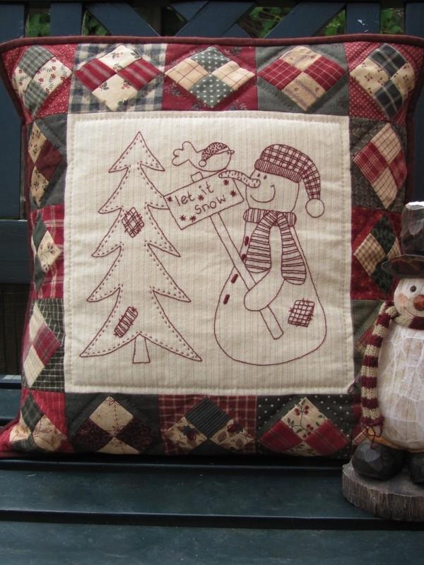 Kerst Quilt Patronen.Winter Kerst