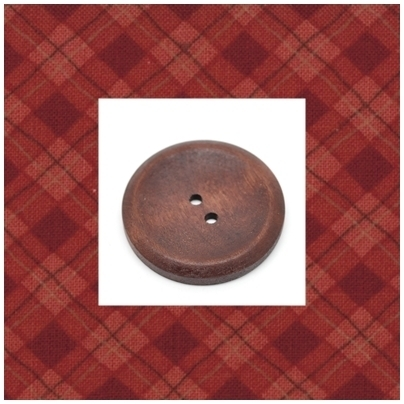 rond donkerrood  40 mm