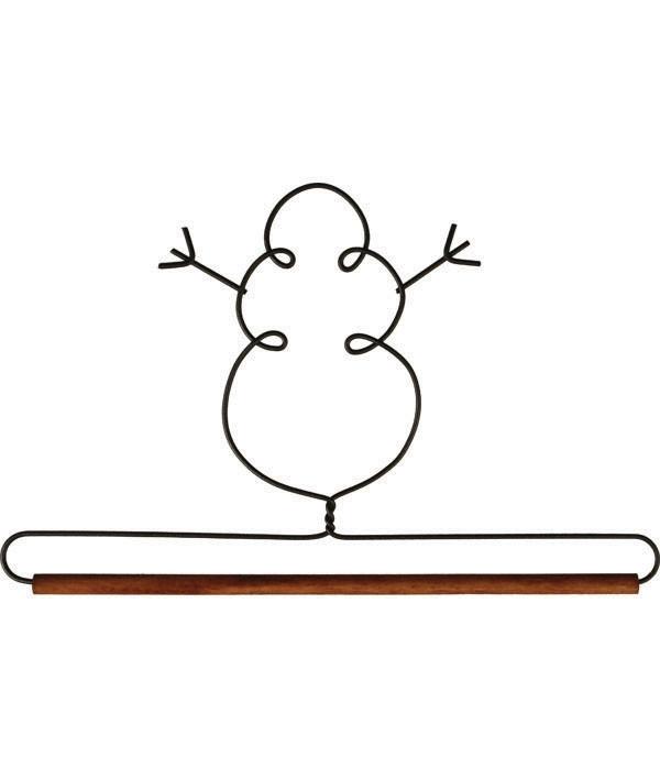 Quilthanger met sneeuwman 19 cm