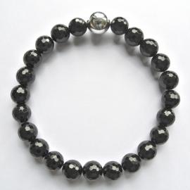 0015 Onyx zwart (facet)