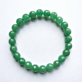 Chalcedoon groen facet