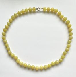 Chalcedoon snoer geel 45 cm